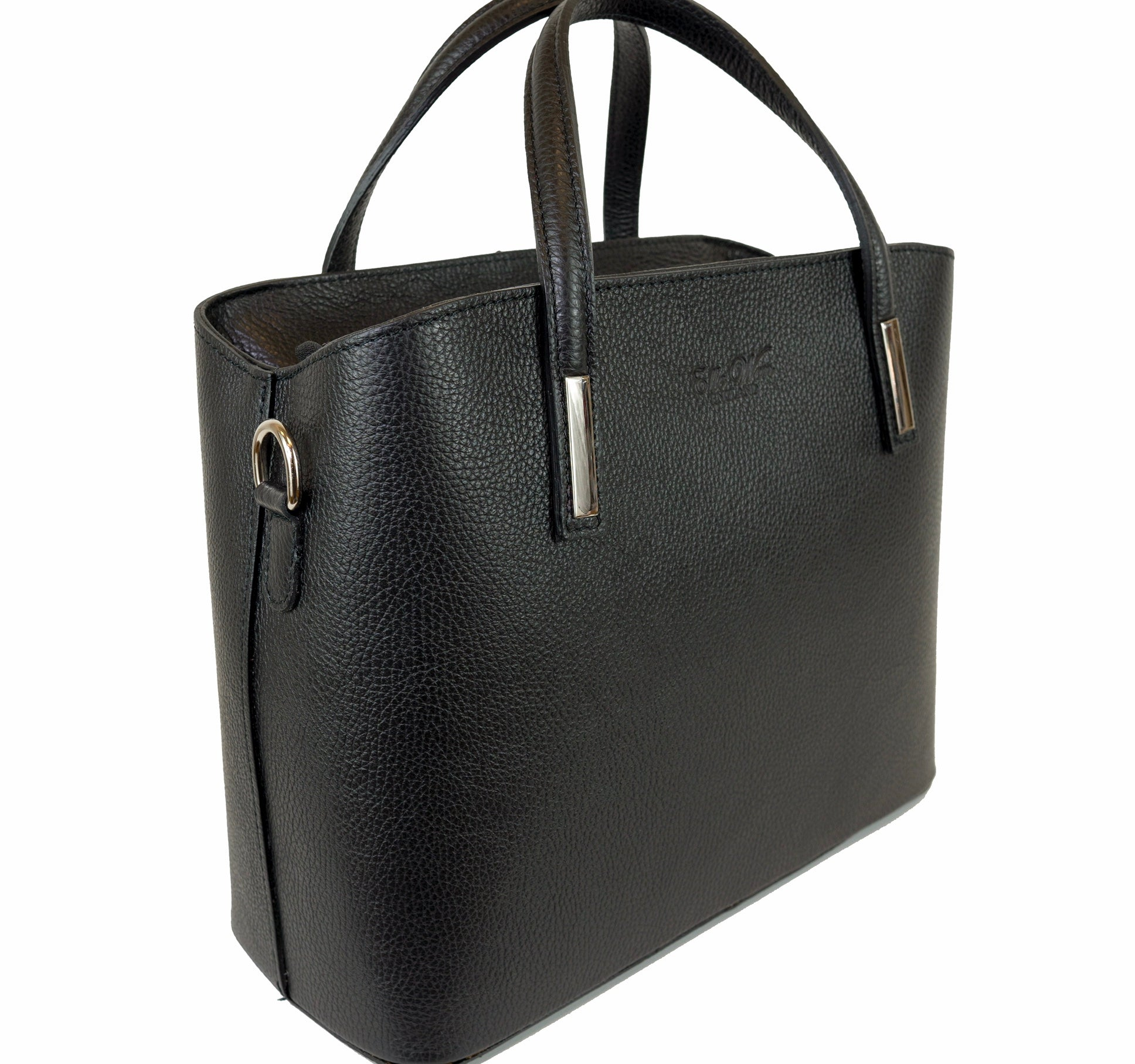 Veronica (Black) - Satchel handbag