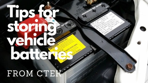 How to Properly Store Your Vehicle's Battery