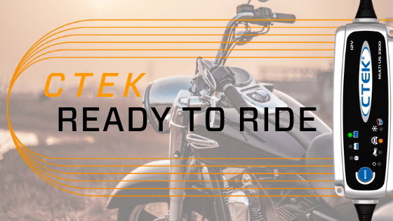 CTEK Keeps Your Motorcycle Battery Charged