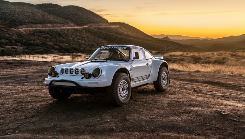 From the Movies to the Dunes, Russell's Builds Include 1933 Plymouth & Porsche Baja 911