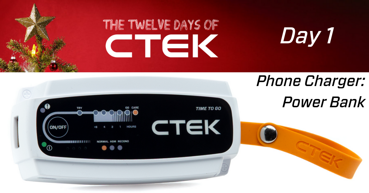 day 1 of 12 days of ctek