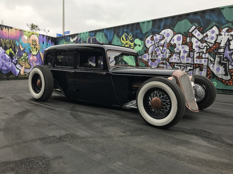 TJ Russell's 1933 Plymouth build