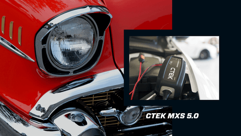 The CTEK MXS 5.0 for Your Classic Car