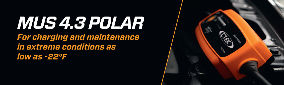 MUS 4.3 Polar for winter battery charging