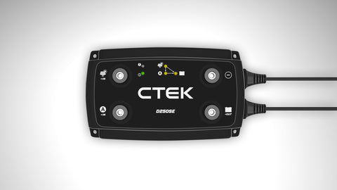 ctek d250se off grid battery charger