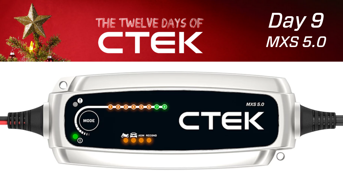 CTEK MXS 5.0 car battery charger