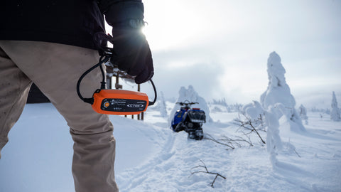 CTEK MUS 4.3 POLAR is built to power your vehicle even in the harshest winter conditions.