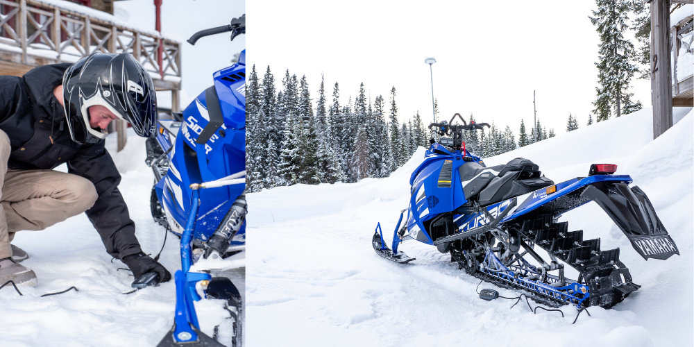 CTEK CT5 POWERSPORT Charging Snowmobile