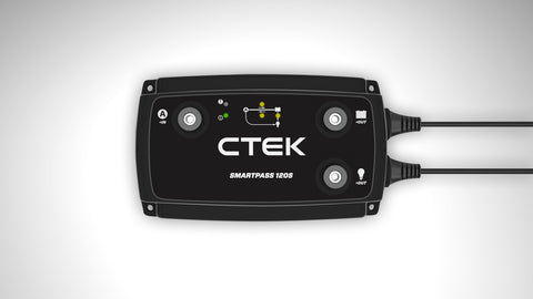 ctek smartpass 120s off grid battery management
