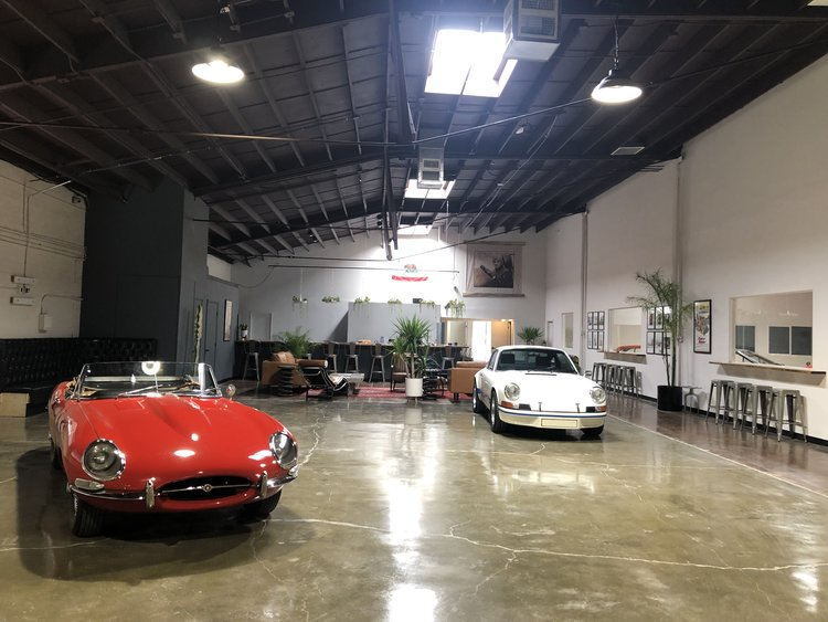 The Motoring Club garage