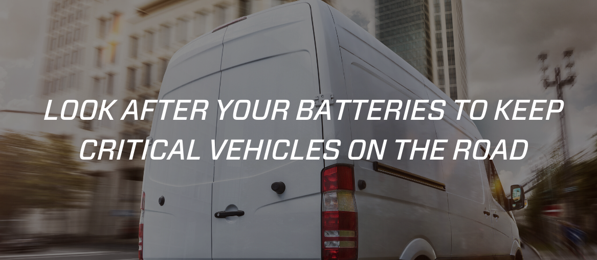 critical vehicles can use CTEK battery chargers to stay on the road