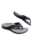 Unisex Grey Thong Sandals
