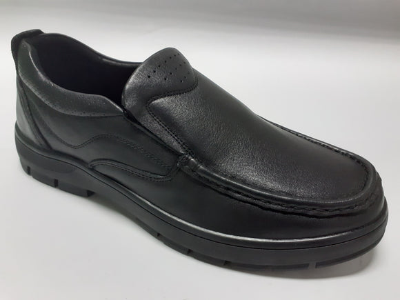 Mens Black Leather Shoes