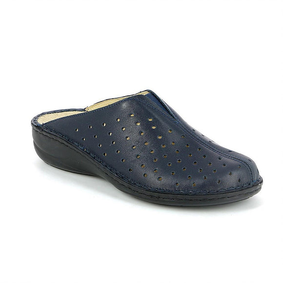Womens Blue Italian Shoes