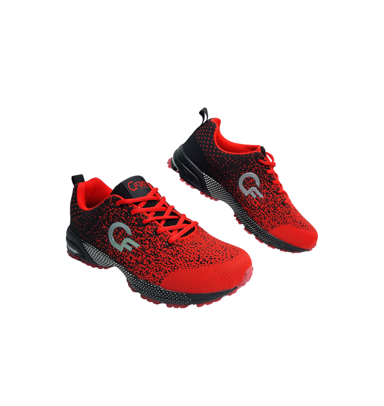 Unisex Red Sport Shoes