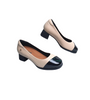 Womens Beige Heel Shoes