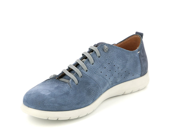Mens Italian Blue Shoes