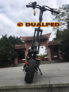 Dualped Scorpion & Scorpion + Be The KING Of The Road With Proprietary Motors For Both Scorpion (3200W) & Scorpion + (5000W and 6093W Peak Power)
