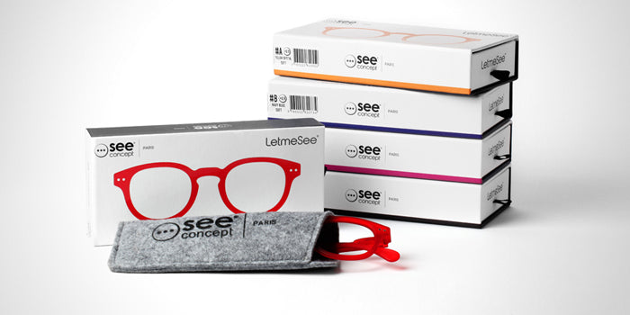 see concept reading glasses