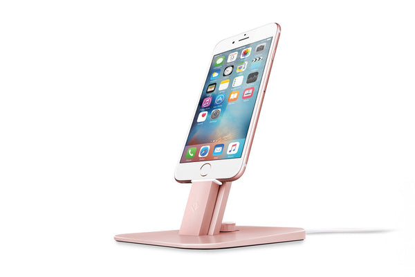 Twelve South HiRise DELUXE for iPhone 5, iPhone 6 + iPad Mini - Rose Gold