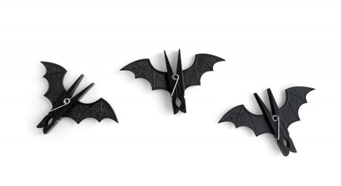 Spooky Bat Pegs (set of 3)