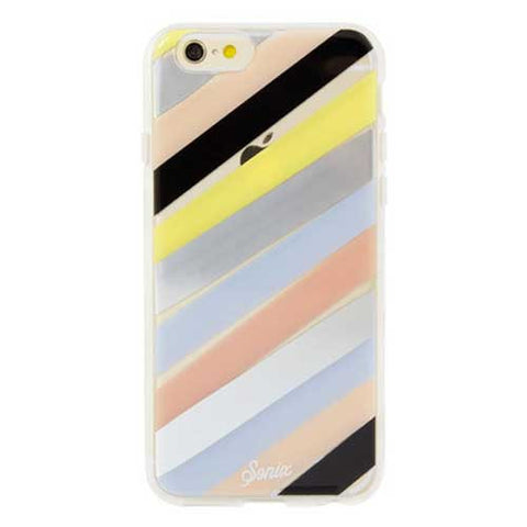 Sonix Clear Coat for iPhone 6/6S - Checker Stripe