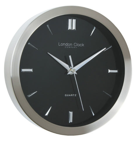 Wall Clock - Contemporary Marker Black 23cm - London Clock Company