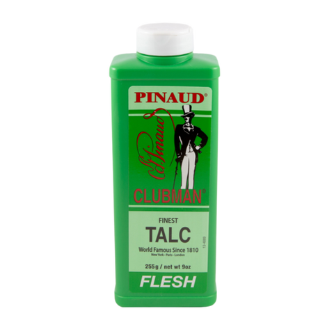 Talc - Finest Flesh Colour Talc 255g - Clubman