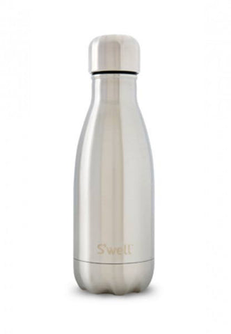 Swell Classic Silver Lining Stainless Steel Insulated Bottle - 260ml