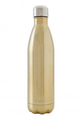 Swell Glitter Champagne Stainless Steel Insulated Bottle - 750ml