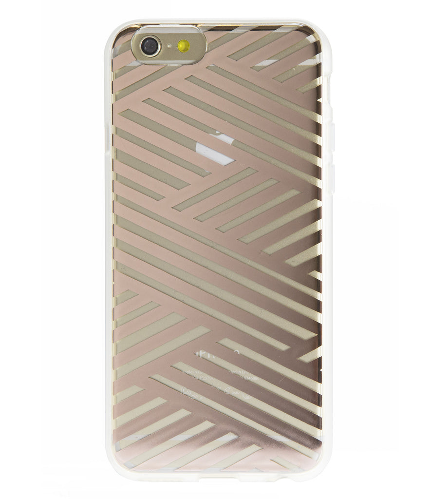 Sonix Clear Coat for iPhone 6/S Plus - Criss Cross Rose Gold