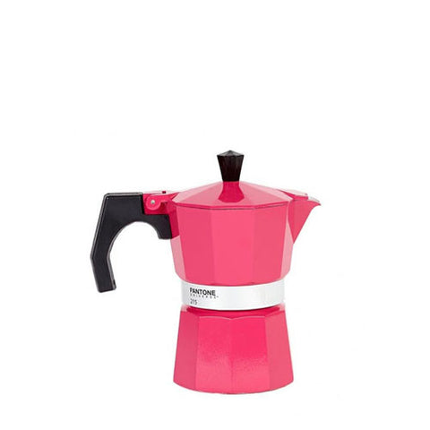Pantone Coffee Maker Percolator (3 cup) Hot Pink