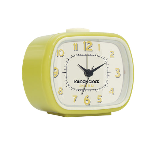 london-clock-company-geo-alarm-clock-yellow-8-5cm