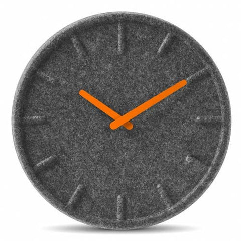 leff-felt-35-wall-clock-orange