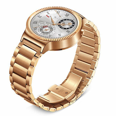 huawei-smart-watch-gold-with-gold-link-band