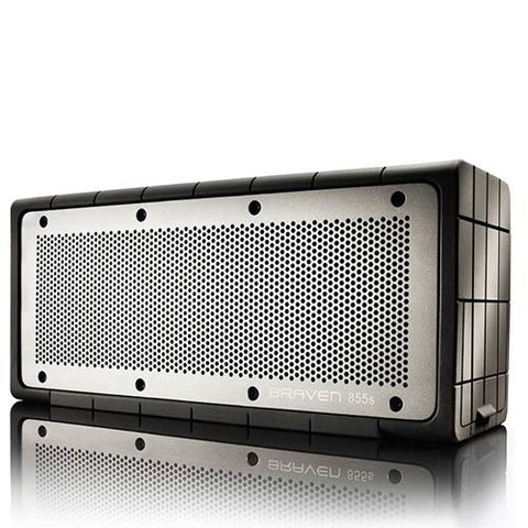 Braven 855s Bluetooth Speakers - Silver