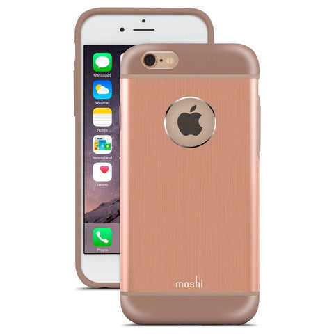 MOSHI iGlaze Armour Metallic Hard Shell for iPhone 6/6s - Sunset Copper