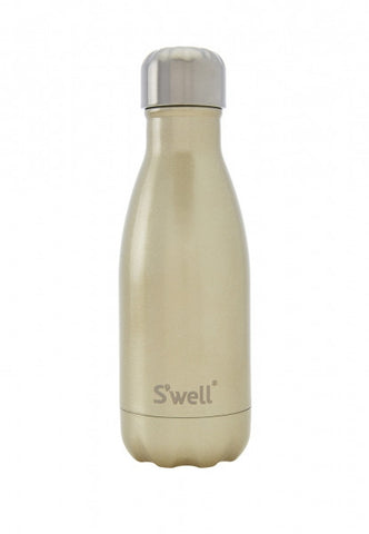Swell Glitter Champagne Stainless Steel Insulated Bottle - 260ml