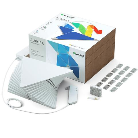 Nanoleaf Aurora Modular Lighting 15 Panels Smarter Kit