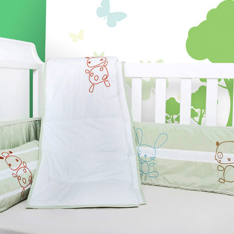 Baby Bedding Set - Happy Animals