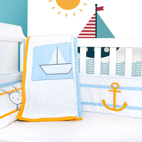Baby Bedding Set - I want to be a Sailor