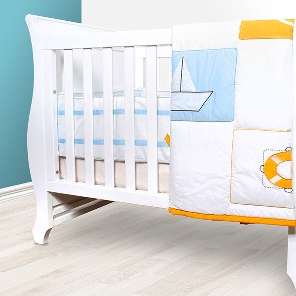 Baby Quilt Set - I want to be a Sailor