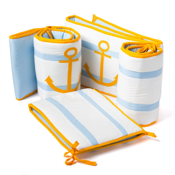 Baby Bumper Set - I want to be a Sailor