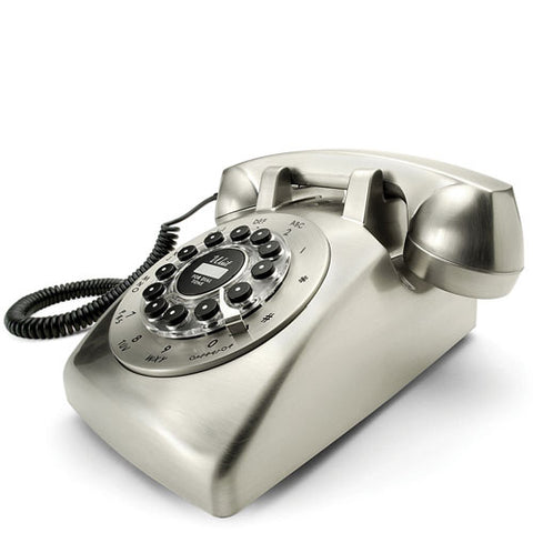 Wild and Wolf Dreyfuss 500 Desk Phone - Chrome