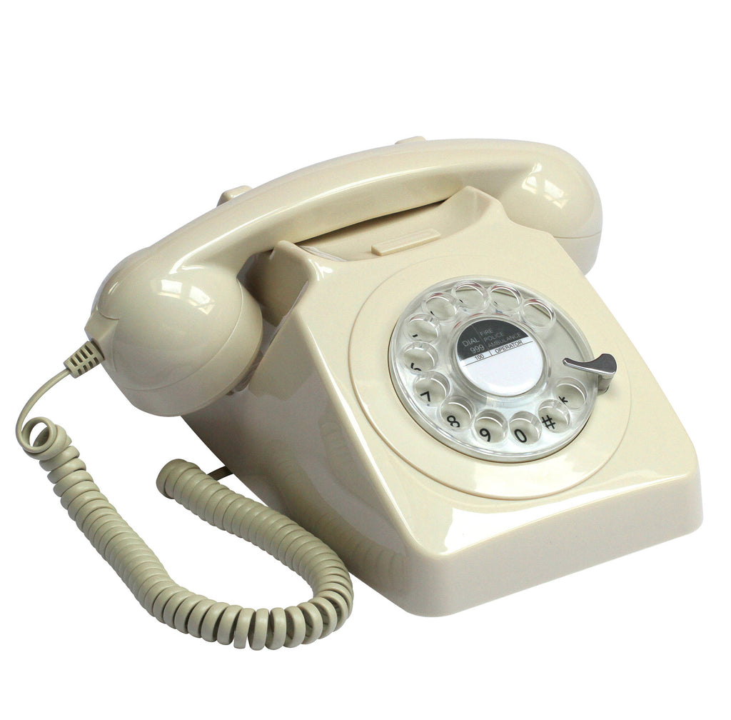 GPO 746 Rotary Telephone - Variety of Colours