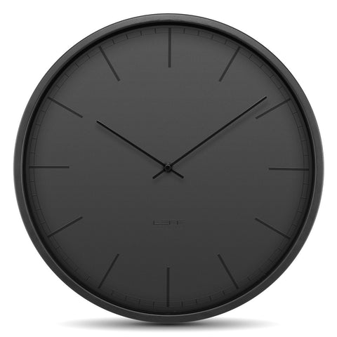 Wall Clock - Tone 35 Black - Leff