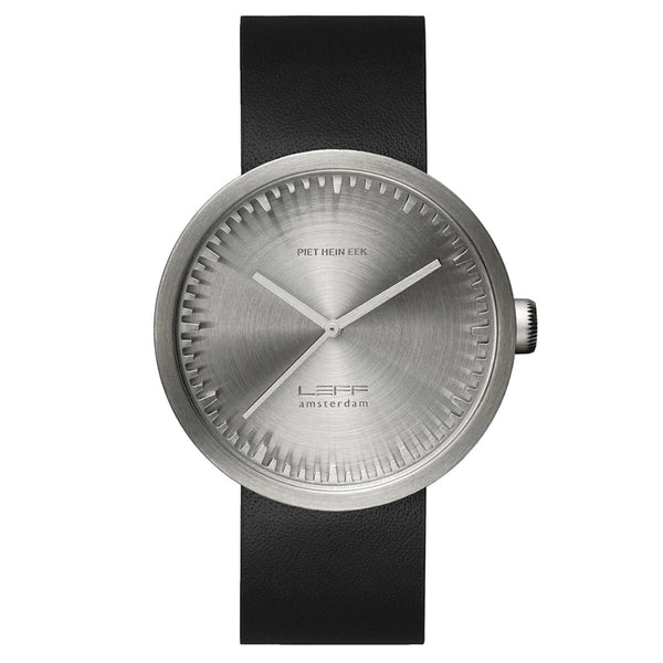 leff-tube-watch-d42-with-black-leather-strap