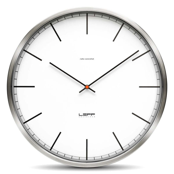 Wall Clock - One 55 Index White - Leff