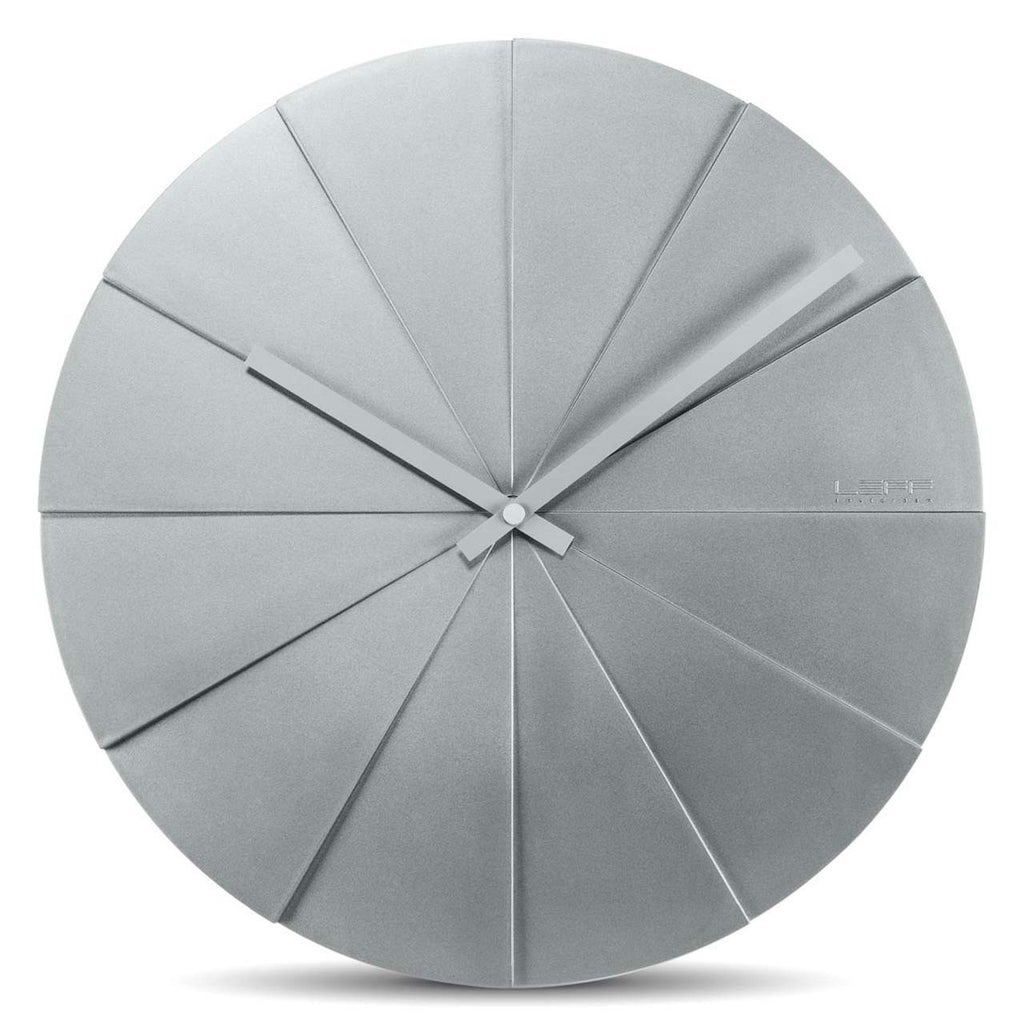 Wall Clock - Scope 45 Grey - Leff