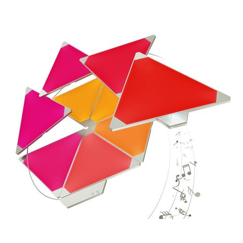 Nanoleaf Aurora Modular Lighting Rhythm Smarter Kit (9-Pack)